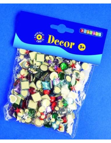 Kryształowe kamyki samoprzylepne – 150 szt.