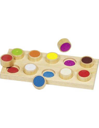 Gra dotykowa - różne powierzchnie