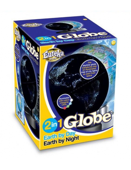 Globus 2 w 1 – Ziemia w dzień i w nocy