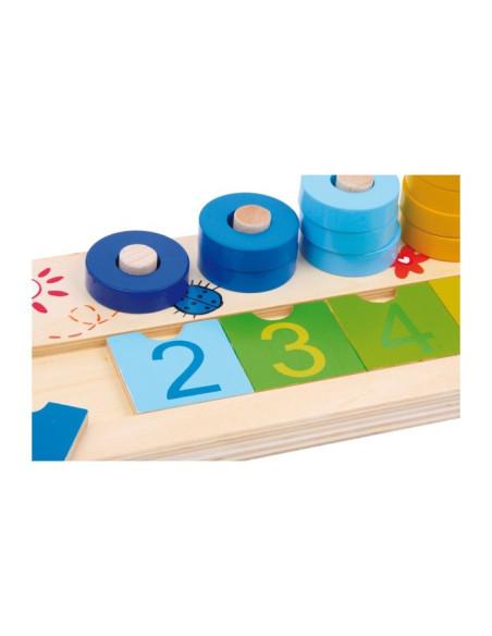 Nauka liczenia – kołeczki 0–9