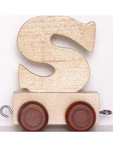 "Wagonik ""S"" – brązowe kółka"