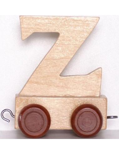 """Wagonik """"Z"""" – brązowe kółka"""