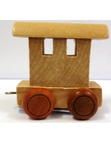 Wagonik końcowy – brązowe kółka