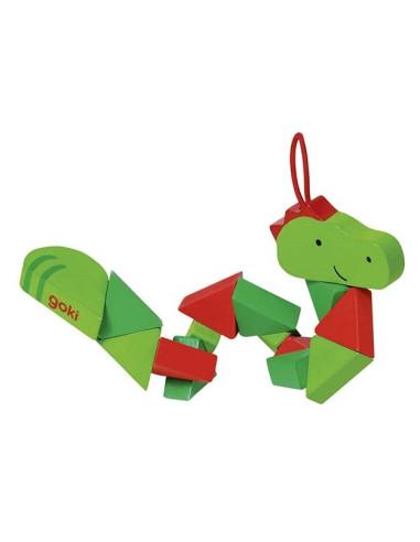 Klocki elastyczne - krokodyl