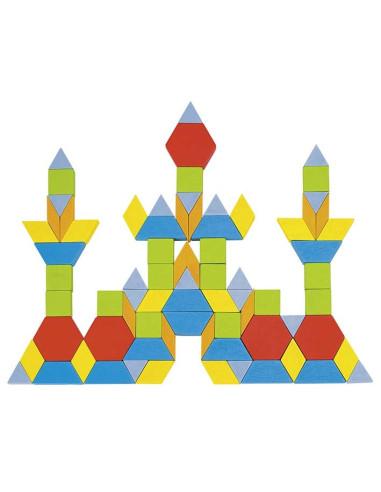 Drewniane puzzle - Mozaika, 250 Elementów