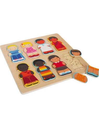 Puzzle Dzieci świata