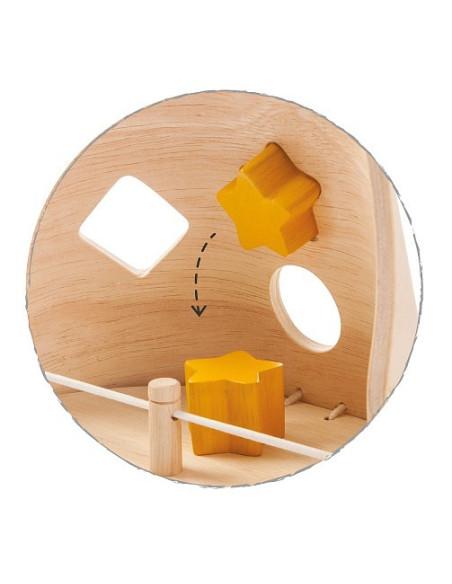 Drewniany sorter sowa, Plan Toys