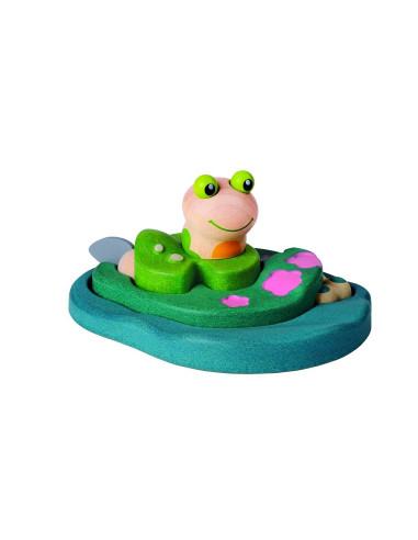 Puzzle – cykl życiowy żaby