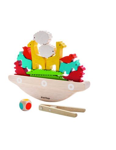 Balansująca łódka