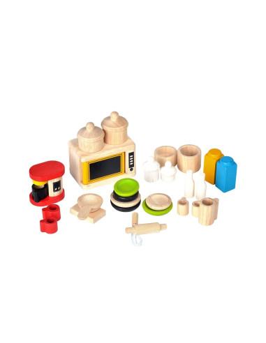 Mebelki dla lalek Dodatki i naczynia do kuchni