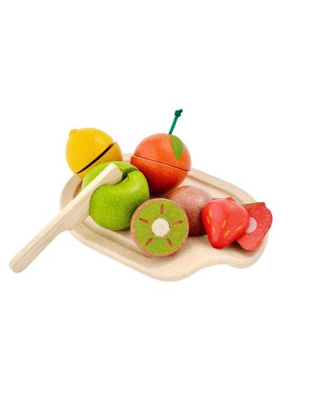 Owoce z deską do krojenia