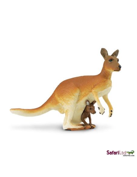 Kangur z młodym