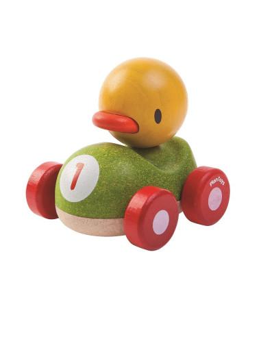 Drewniana wyścigówka kaczka