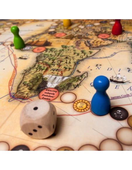 4 gry podróżne od Lucii Ernestovej