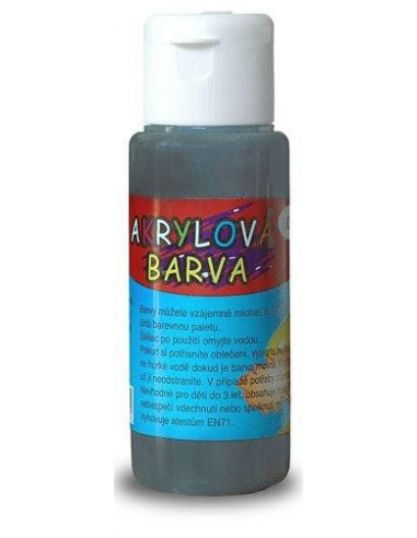 Farba akrylowa 60 ml – czarna