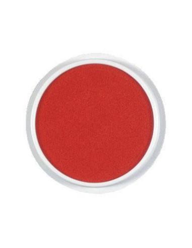 Okrągła poduszeczka – czerwona