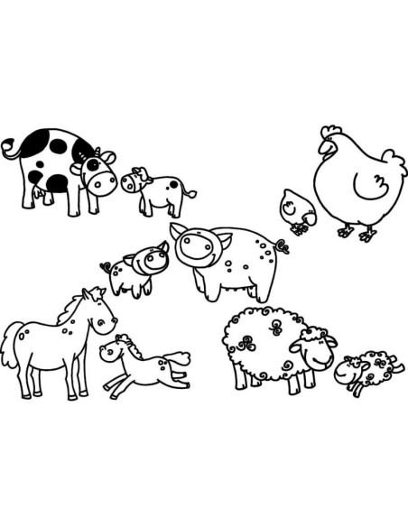 StampoMinos - Zwierzęta (ogród)