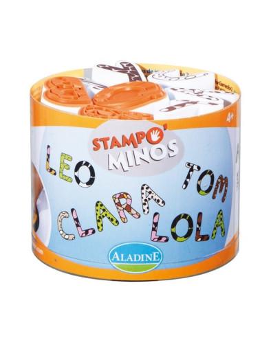 StampoMinos - Wielkie litery