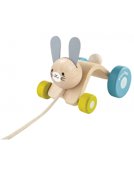 Zabawka do ciągnięcia króliczek