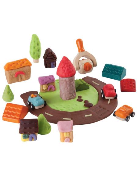 Akcesoria do ciastoliny – miasto
