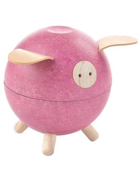 Różowa świnka-skarbonka