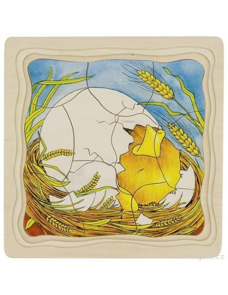 Puzzle warstwowe – od kury do jajka