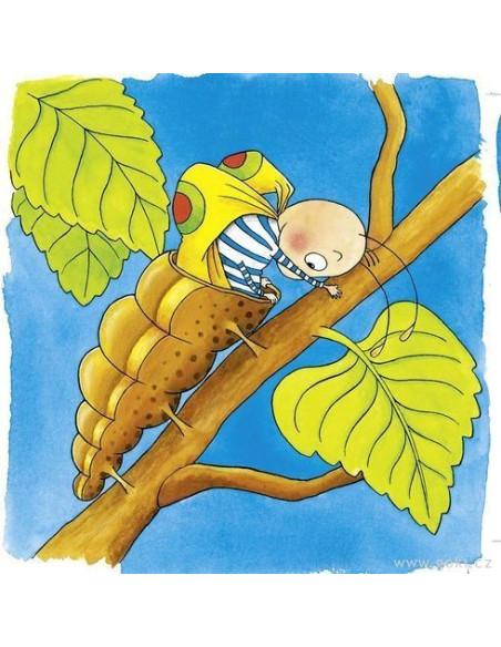Puzzle warstwowe – z poczwarki w motyla