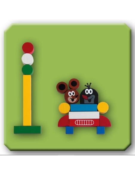 Magnetyczne elementy – Krecik (mini)