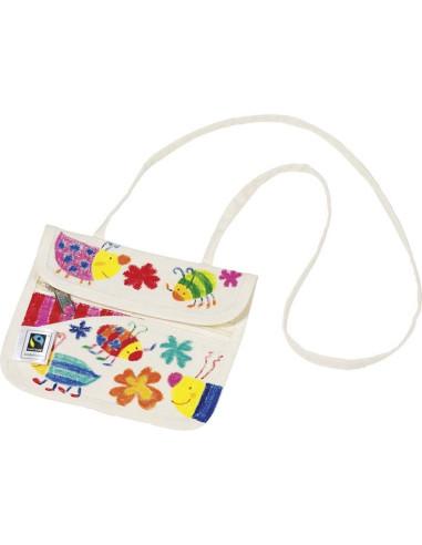 Bawełniany portfel do malowania Fair Trade