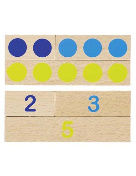 Uczymy się liczyć – deseczki, 36 elementów
