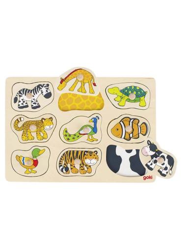 Puzzle Dla Najmłodszych Zwierzaki