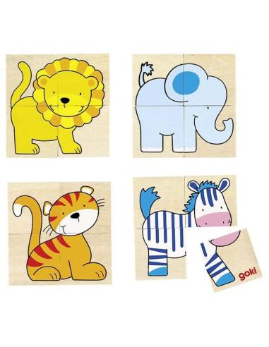 Puzzle i memory - zwierzęta z Zoo
