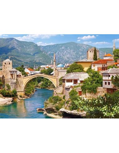 PUZZLE - Mostar, Chorwacja - 1000 El.