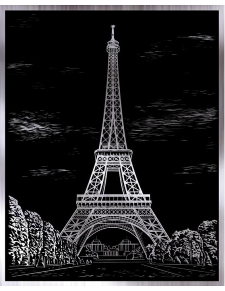 Wydrapywanka - Wieża Eiffla