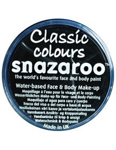 Snazaroo Farba do twarzy - Czarny 18 ml
