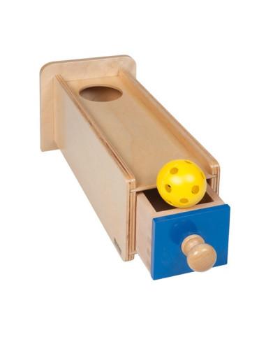 Nienhuis - Drewniana kasetka z szufladką