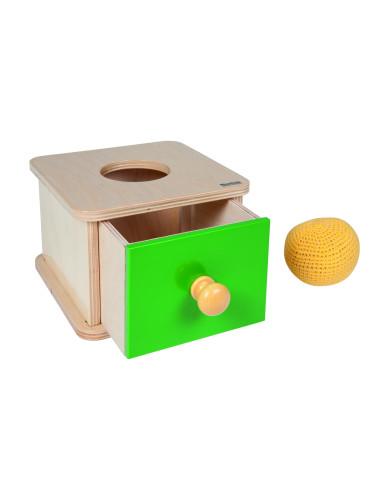 Nienhuis - Kasetka z szufladką i piłeczką