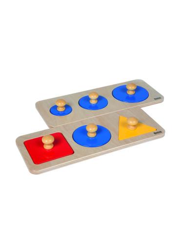 Nienhuis - Zestaw puzzli potrójnych