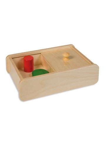 Nienhuis - Pudełko z przesuwaną pokrywką - bez brył