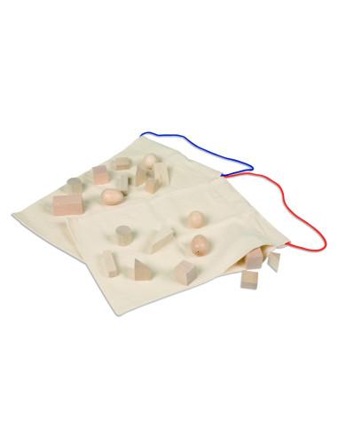 Nienhuis - Tajemnicze woreczki - bryły geometryczne