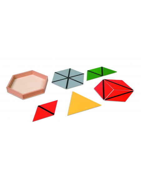 Nienhuis - Trójkąty konstrukcyjne, 5 pudełek