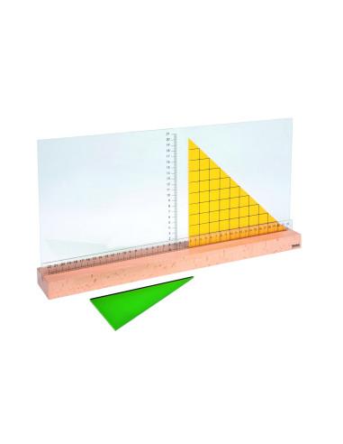 Nienhuis - Podstawka do mierzenia trójkątów