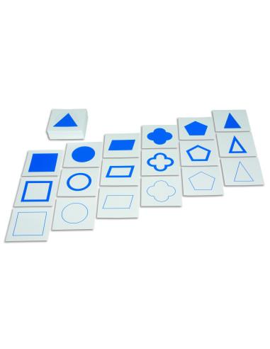 Nienhuis - Karty z kształtami geometrycznymi