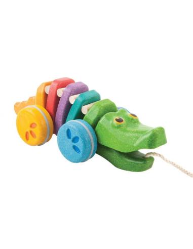 Tęczowy krokodyl