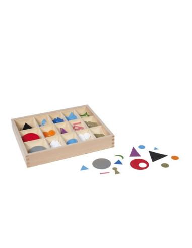Nienhuis - Pudełko z symbolami gramatycznymi