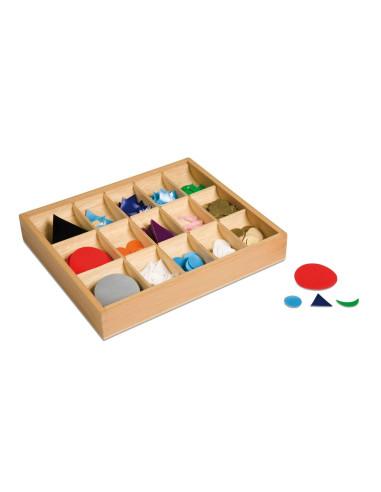Nienhuis - Pudełko z papierowymi symbolami gramatycznymi