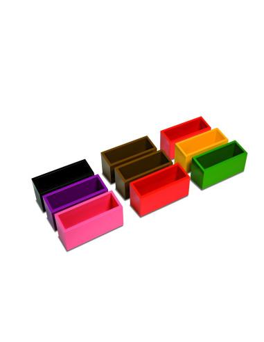 Nienhuis - Pudełka gramatyczne - kolorowe