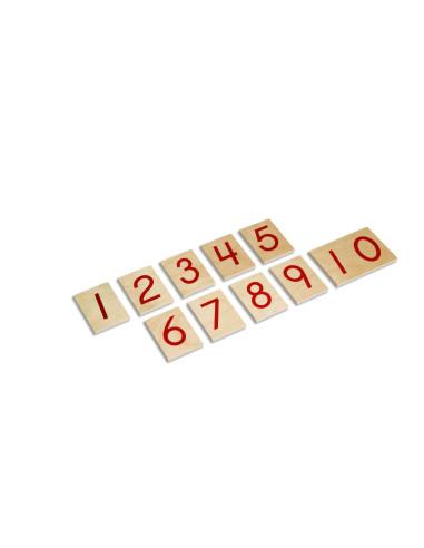 Nienhuis - Cyferki do drążków numerycznych, USA