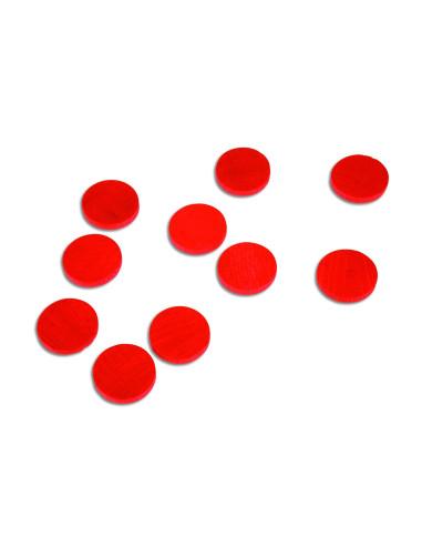 Nienhuis - Żetony czerwone,100 szt