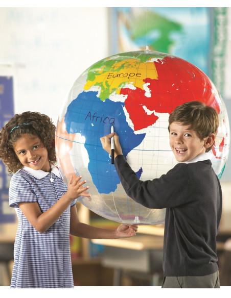 Duży dmuchany globus (suchościeralny)